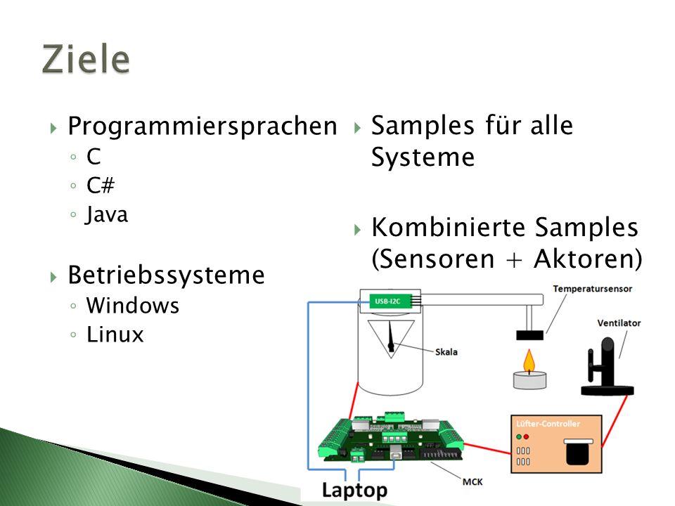 Ziele Samples für alle Systeme
