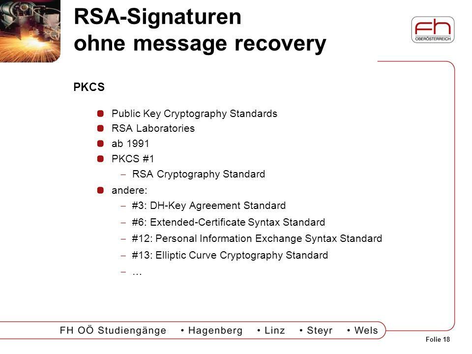 RSA-Signaturen ohne message recovery