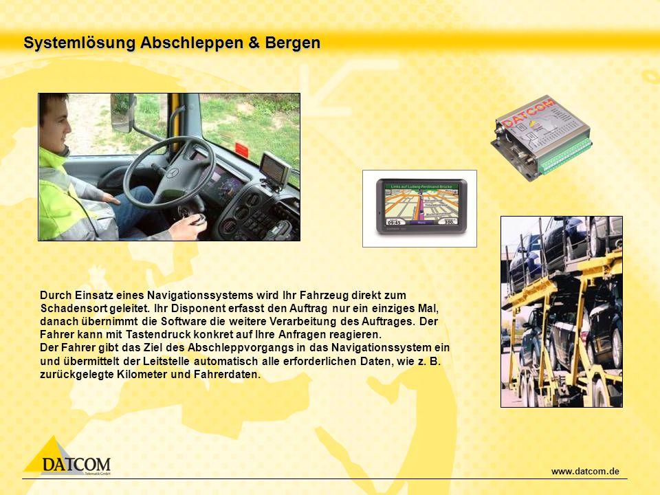 Systemlösung Abschleppen & Bergen