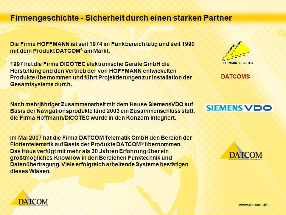 Firmengeschichte - Sicherheit durch einen starken Partner