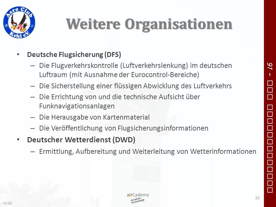 Weitere Organisationen