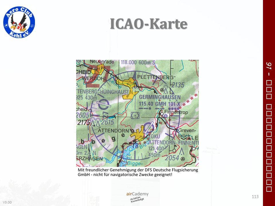 ICAO-Karte
