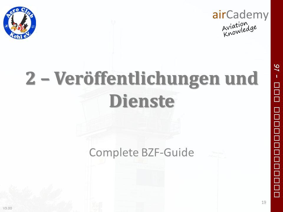 2 – Veröffentlichungen und Dienste