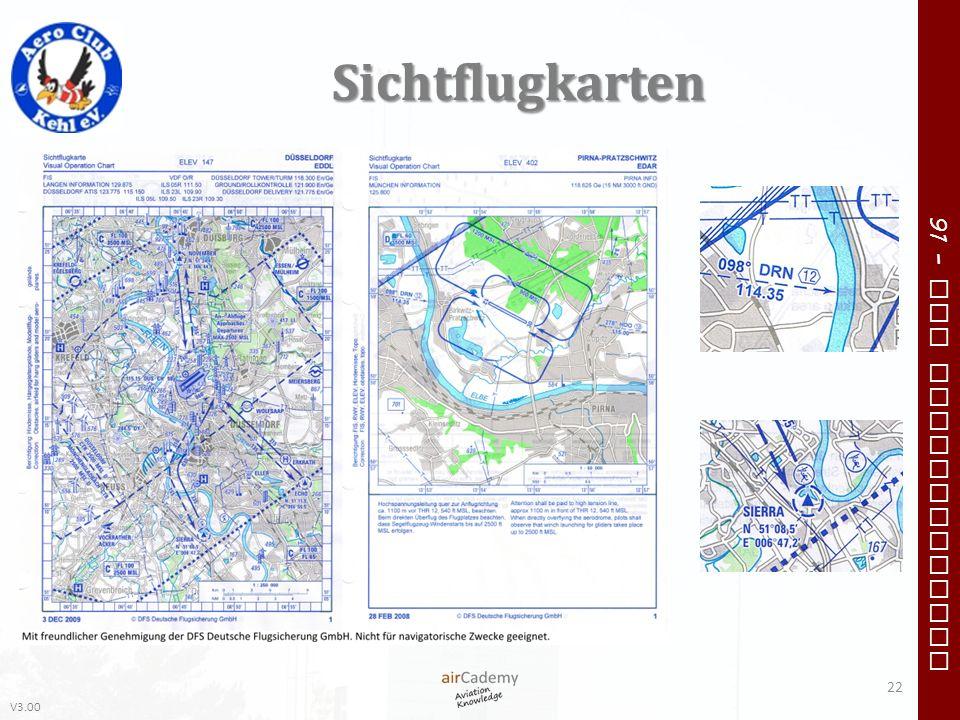 Sichtflugkarten