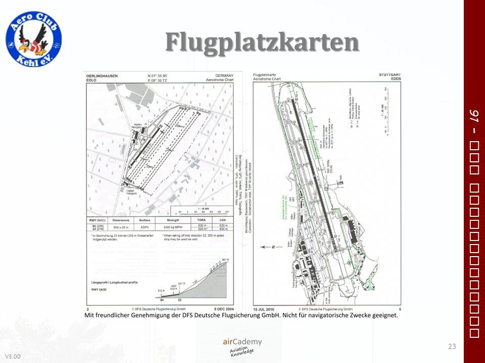 Flugplatzkarten