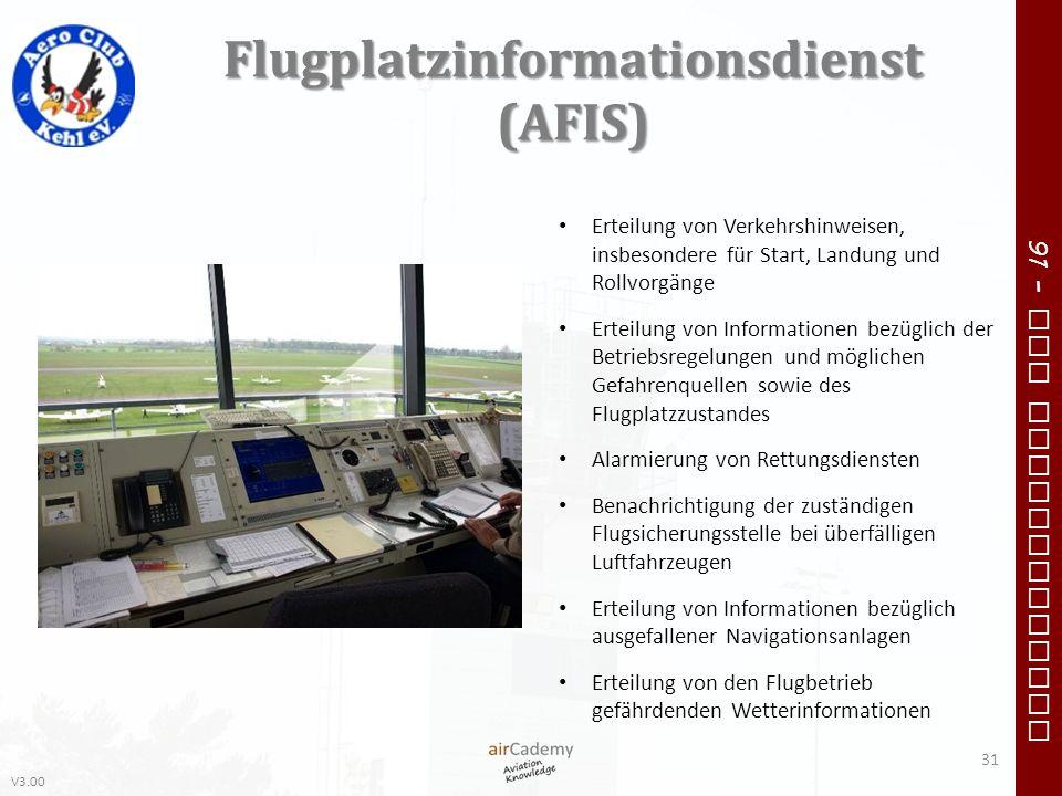 Flugplatzinformationsdienst (AFIS)