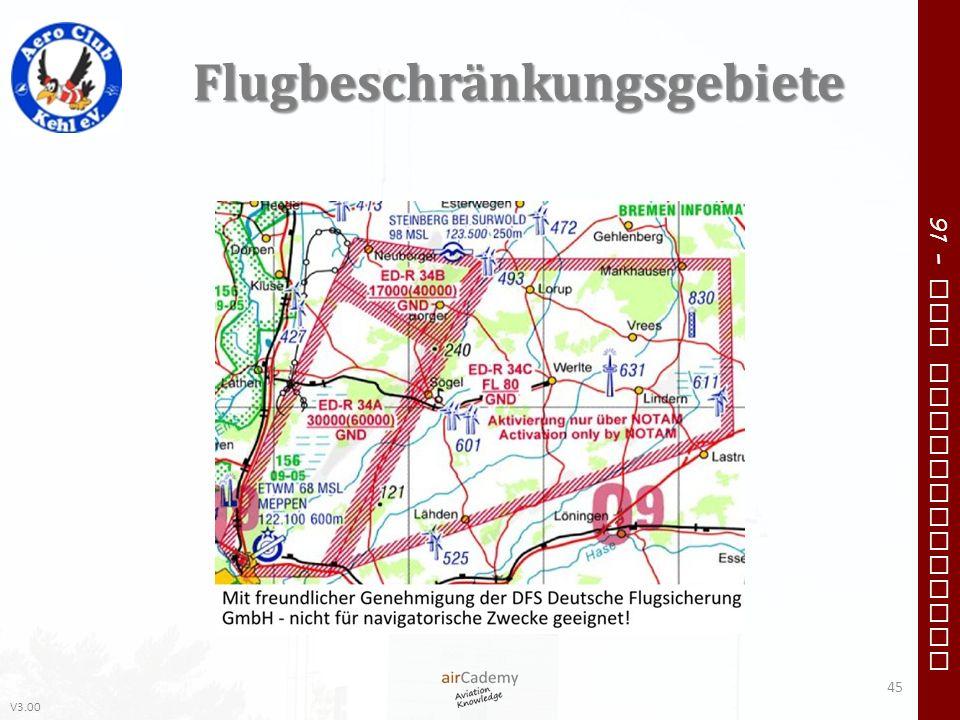 Flugbeschränkungsgebiete