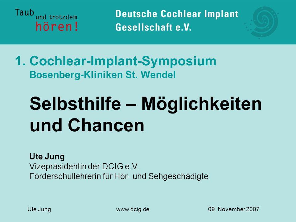 Cochlear-Implant-Symposium Bosenberg-Kliniken St