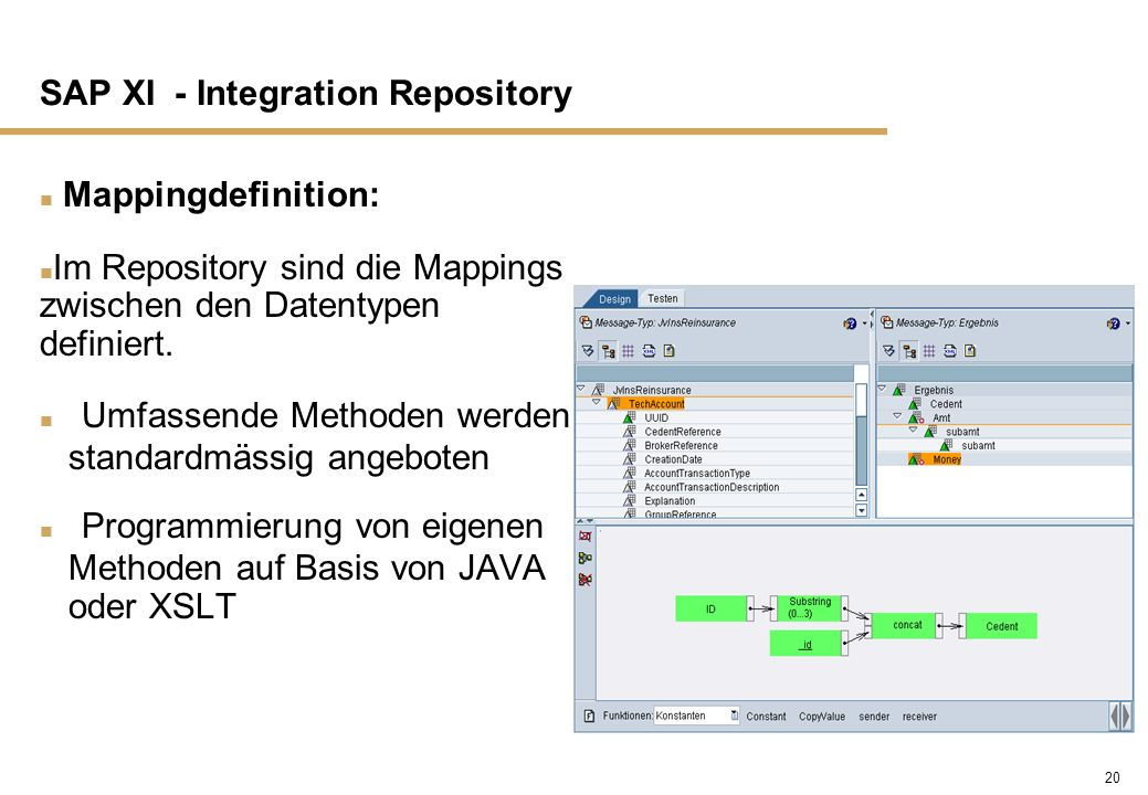SAP XI - Integration Repository