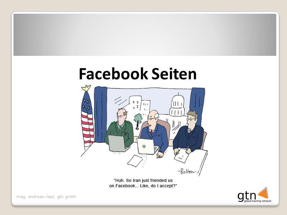 Facebook Seiten