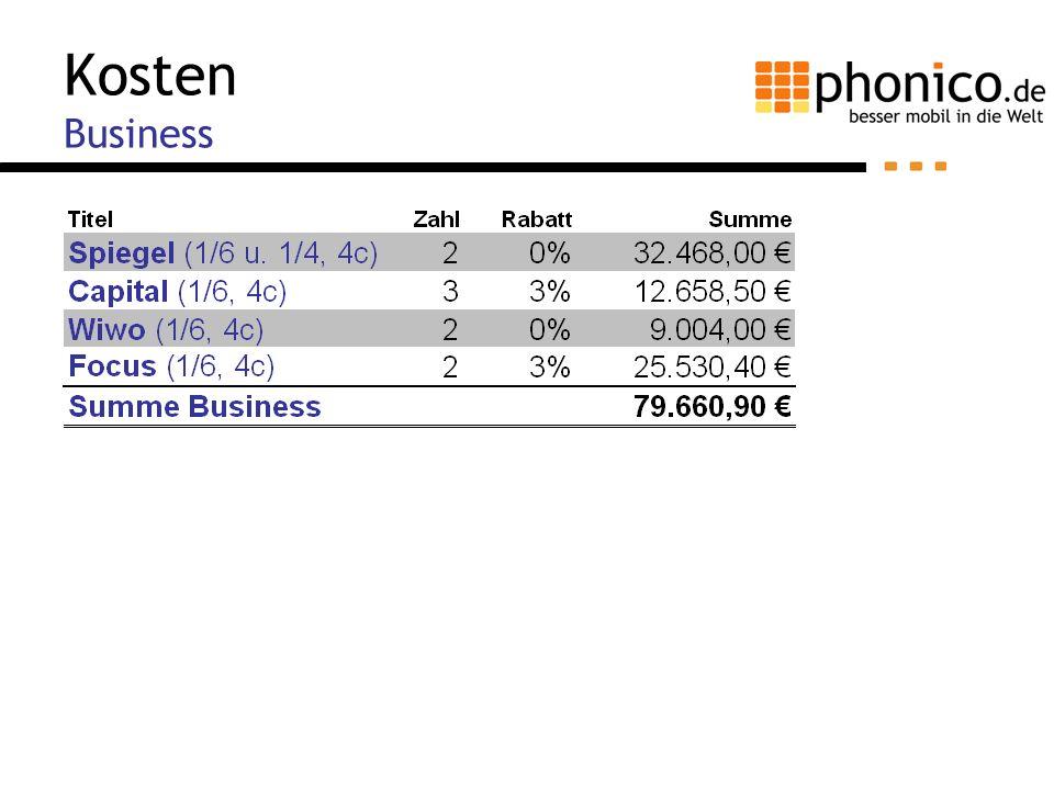 Kosten Business