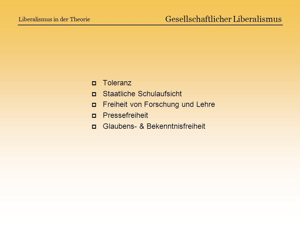 Gesellschaftlicher Liberalismus