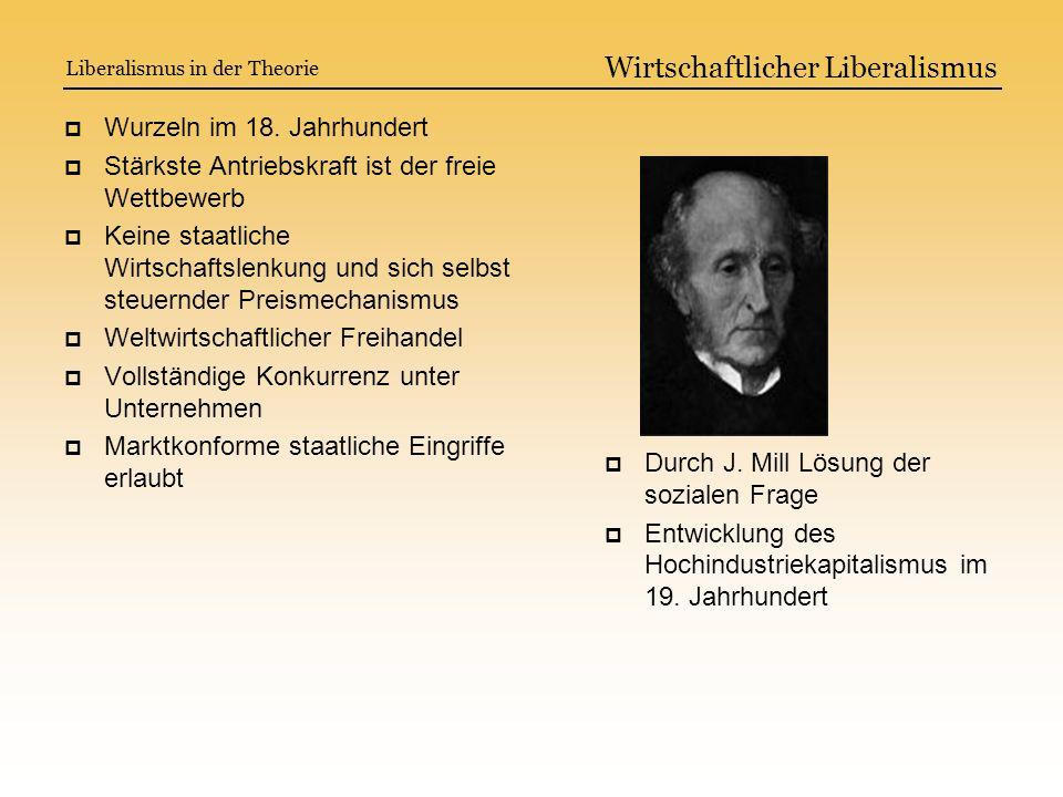 Wirtschaftlicher Liberalismus