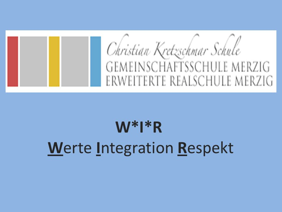 Werte Integration Respekt