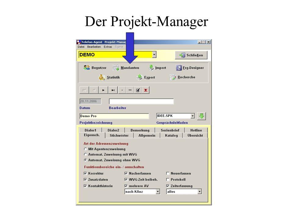 Der Projekt-Manager