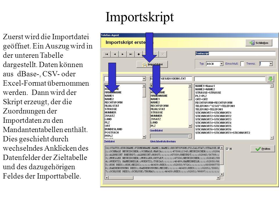 Importskript