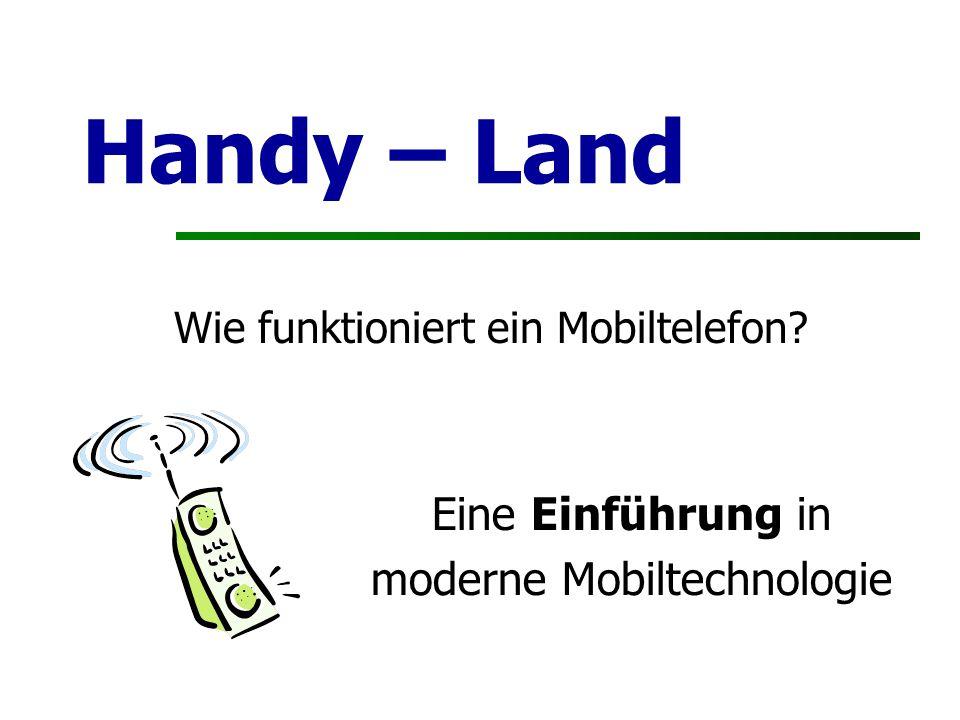 Handy – Land Eine Einführung in moderne Mobiltechnologie