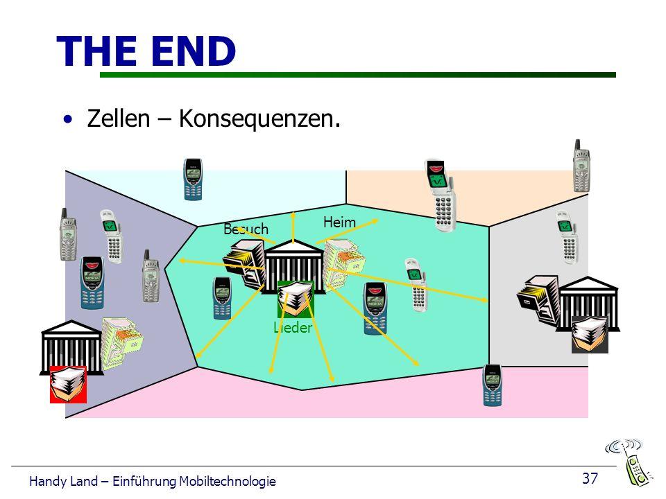 THE END Zellen – Konsequenzen. Heim Besuch Lieder