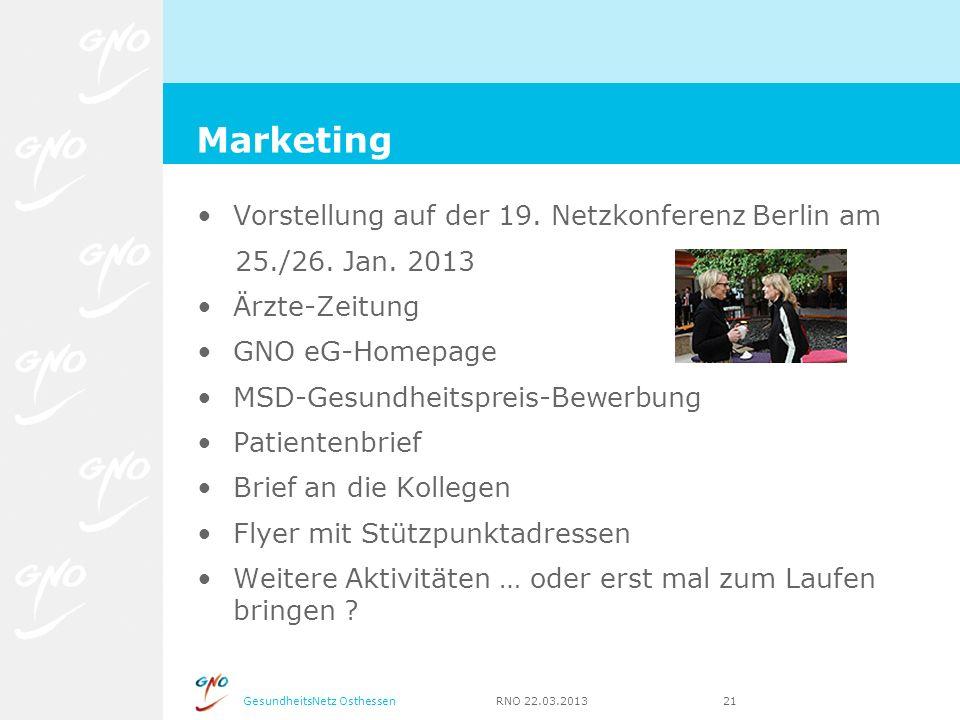 Marketing Vorstellung auf der 19. Netzkonferenz Berlin am