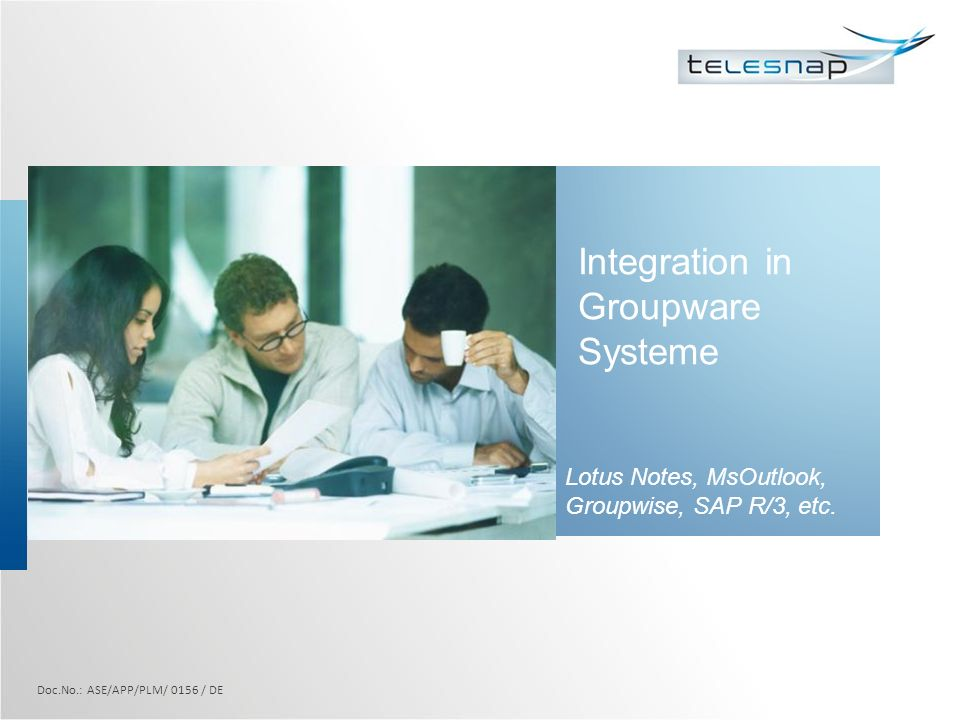 Integration in Groupware Systeme