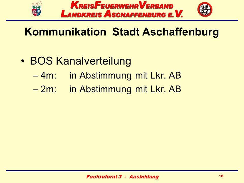 Kommunikation Stadt Aschaffenburg