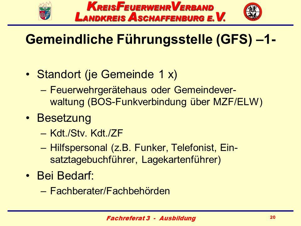 Gemeindliche Führungsstelle (GFS) –1-