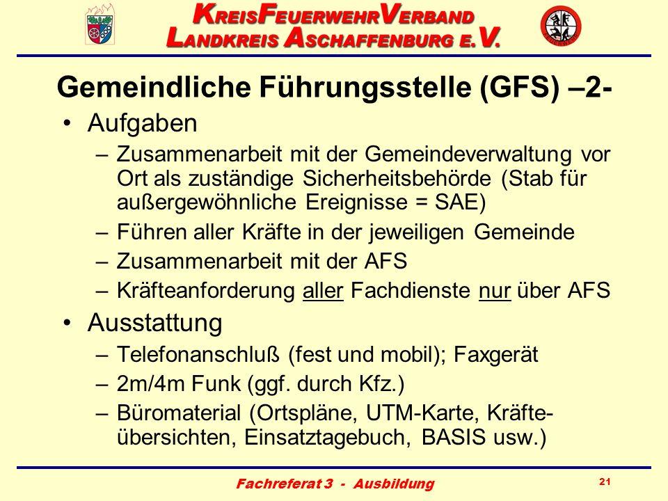 Gemeindliche Führungsstelle (GFS) –2-