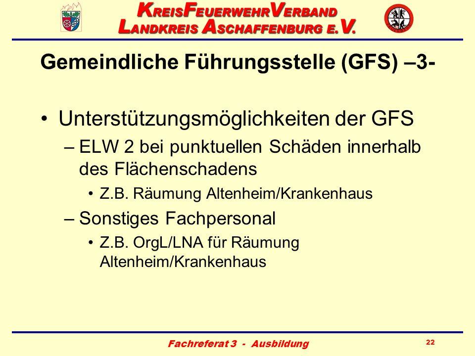 Gemeindliche Führungsstelle (GFS) –3-