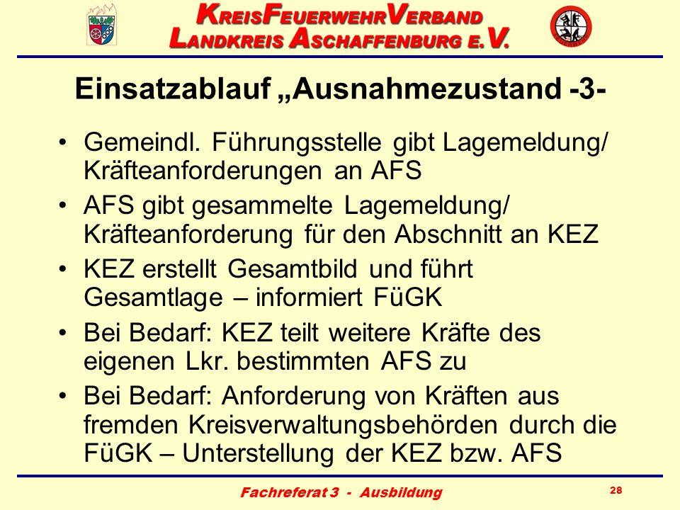 """Einsatzablauf """"Ausnahmezustand -3-"""