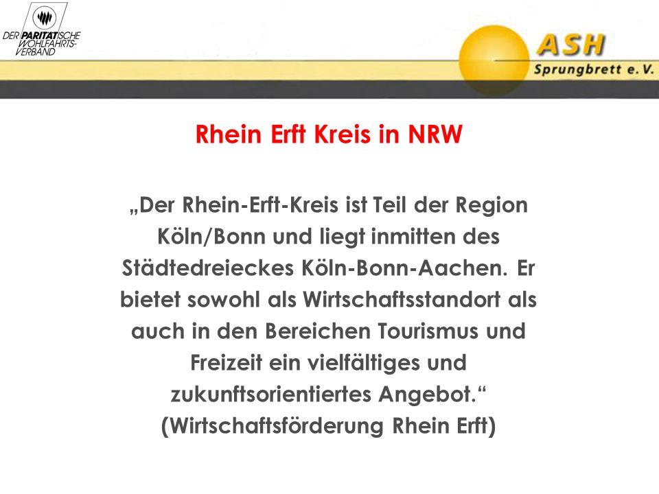 """Rhein Erft Kreis in NRW """"Der Rhein-Erft-Kreis ist Teil der Region"""