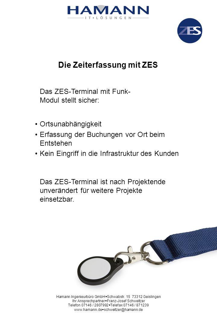 Die Zeiterfassung mit ZES