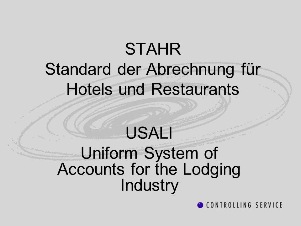 STAHR Standard der Abrechnung für Hotels und Restaurants