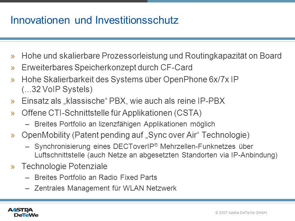 Innovationen und Investitionsschutz