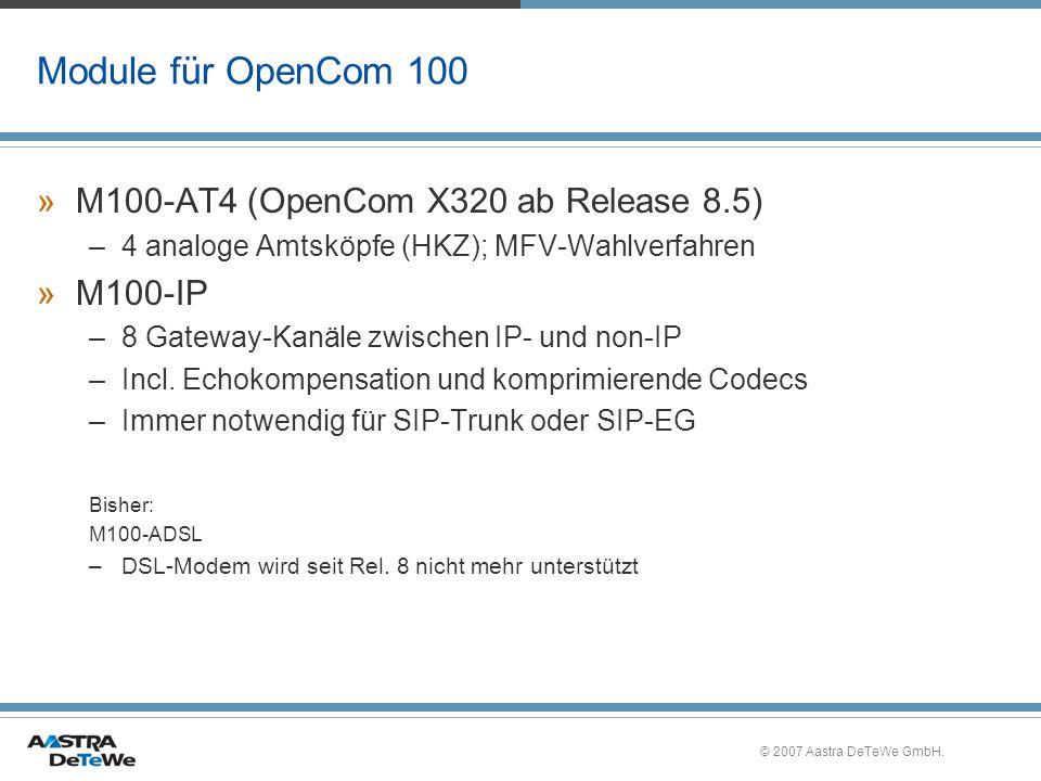 Module für OpenCom 100 M100-AT4 (OpenCom X320 ab Release 8.5) M100-IP