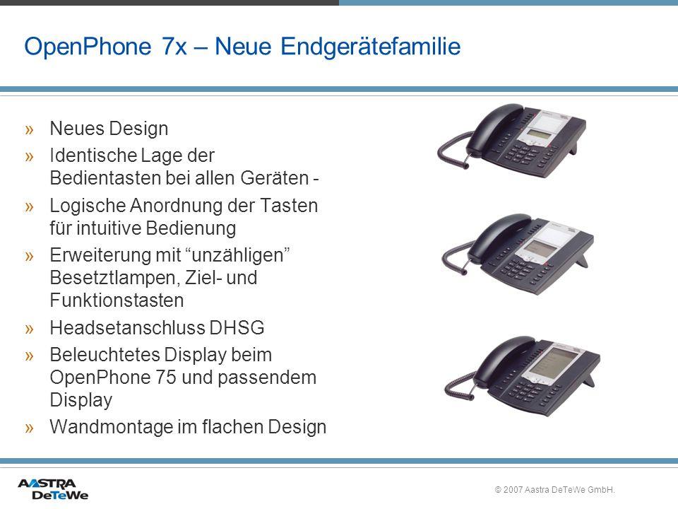 OpenPhone 7x – Neue Endgerätefamilie