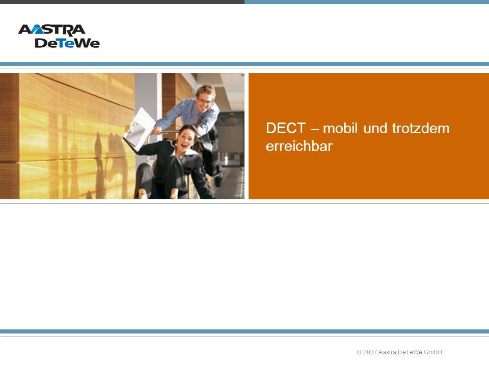 DECT – mobil und trotzdem erreichbar