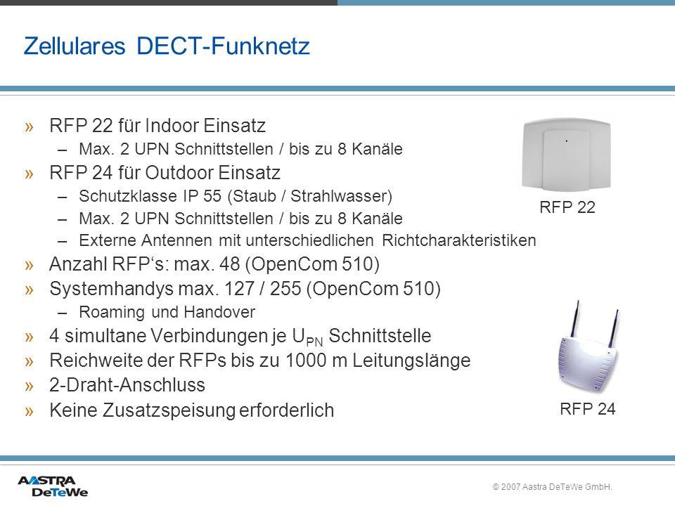 Zellulares DECT-Funknetz