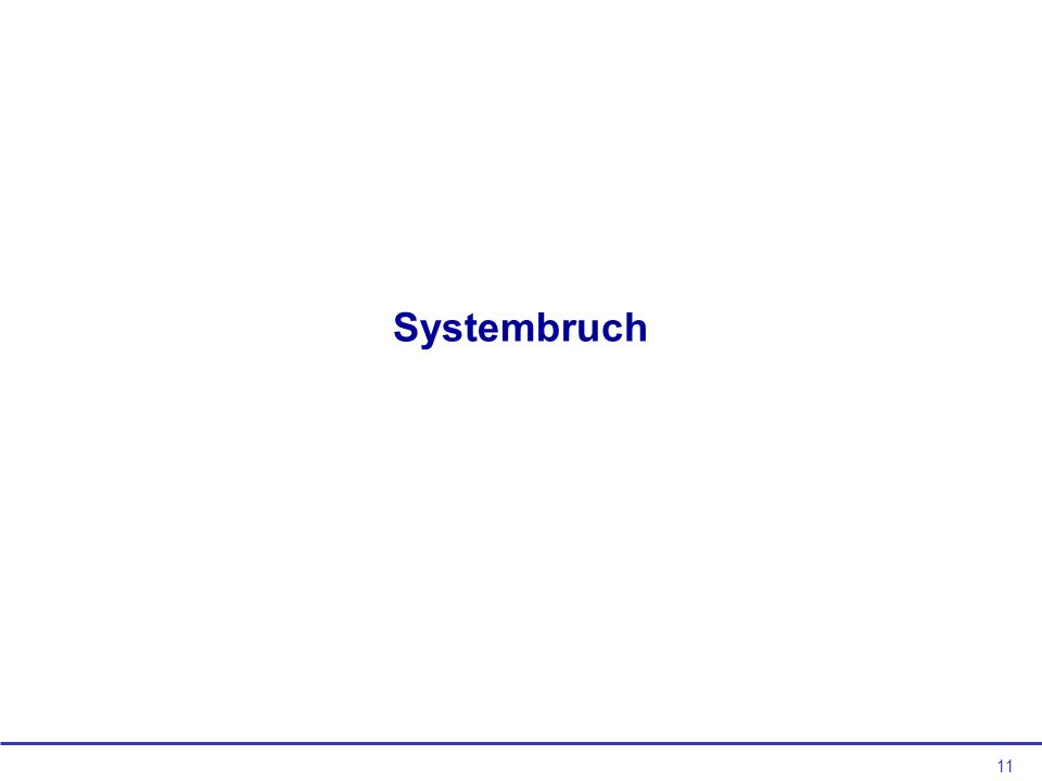 Systembruch
