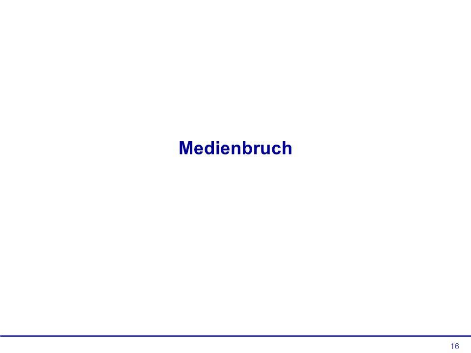 Medienbruch