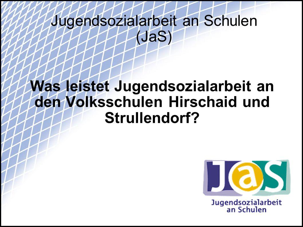 Jugendsozialarbeit an Schulen (JaS)