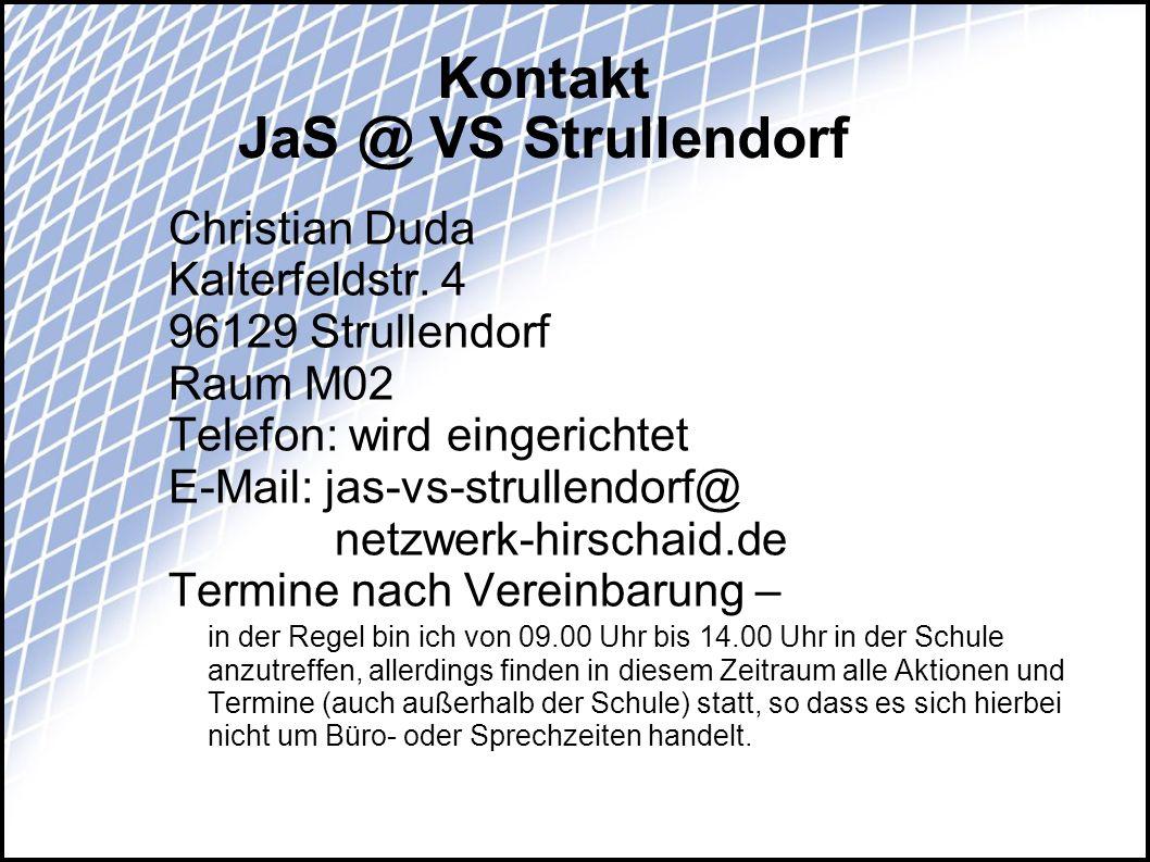 Kontakt JaS @ VS Strullendorf