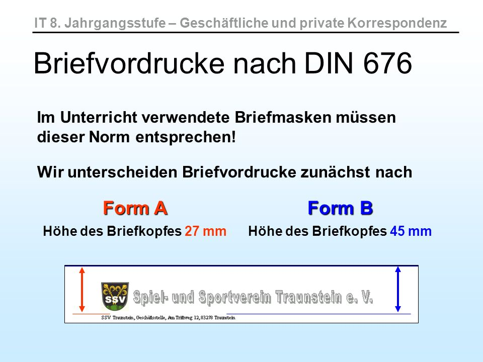 Briefvordrucke Nach Din Ppt Video Online Herunterladen
