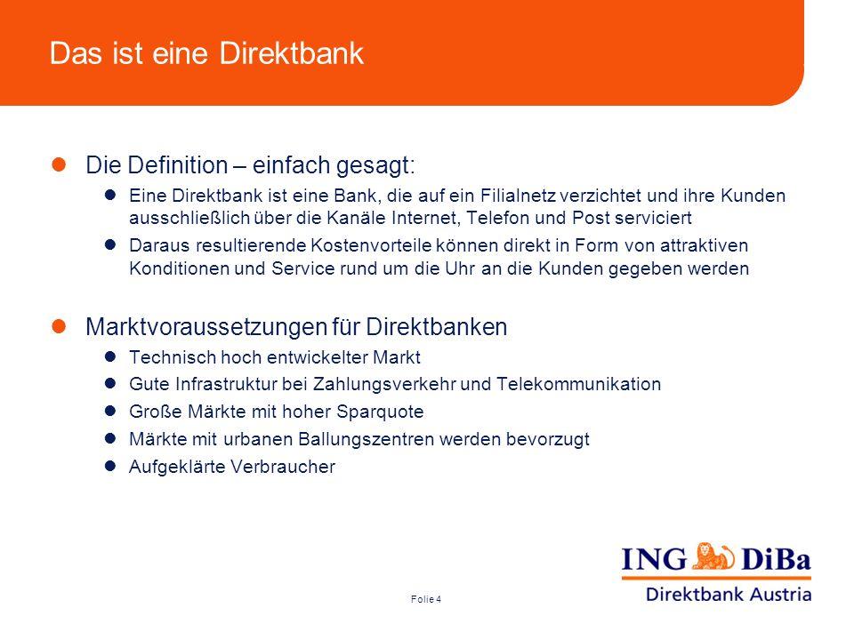 Das ist eine Direktbank