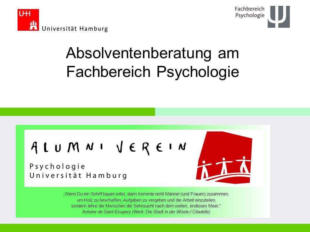 Absolventenberatung am Fachbereich Psychologie