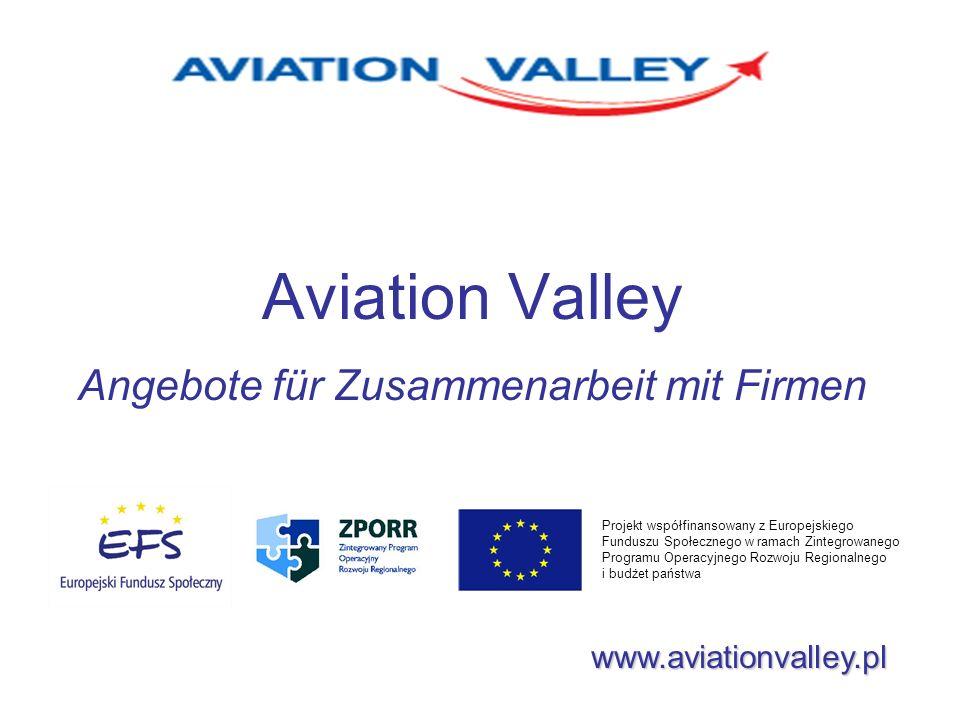 Aviation Valley Angebote für Zusammenarbeit mit Firmen