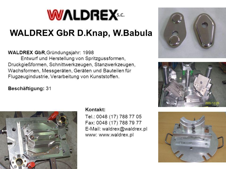 WALDREX GbR D.Knap, W.Babula