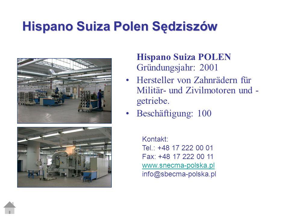 Hispano Suiza Polen Sędziszów