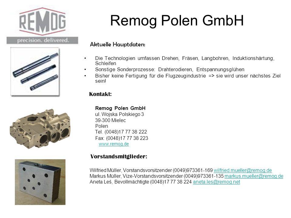 Remog Polen GmbH Kontakt:
