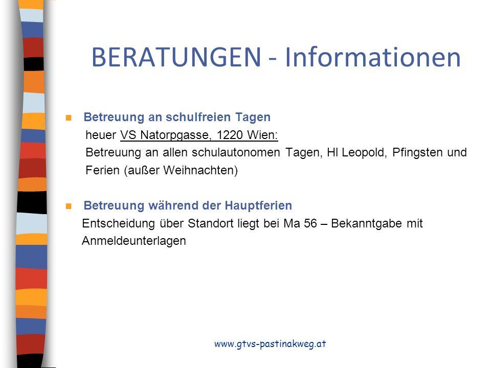 BERATUNGEN - Informationen