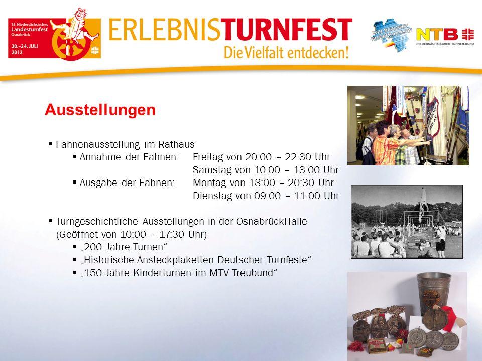 Ausstellungen Fahnenausstellung im Rathaus